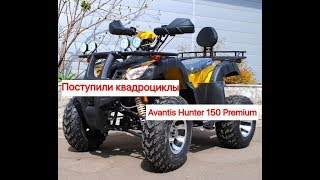 Обзор  квадроцикла AVANTIS HUNTER 150 PREMIUM