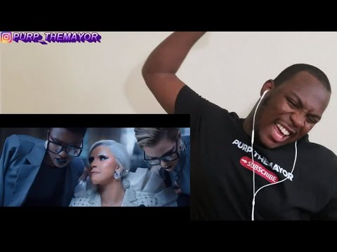 Repeat Cardi B Press Official Music Video Reaction