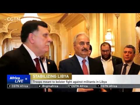 Egypt sends military personnel to back Khalifa Haftar's forces