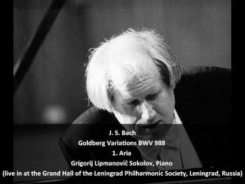 J. S. Bach - Goldberg Variations BWV 988 - 1. Aria (1/32)