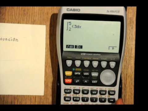 428030c738b2 Uso de la calculadora Casio fx-9860GII - YouTube