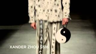 Xander Zhou SS16 at London Collections Men