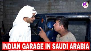Indian Garage In Saudi Arabia Funny|Hindi Arabi Urdu|Kuchto hai