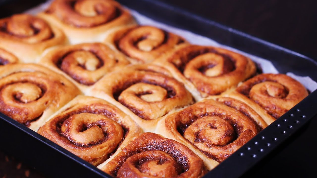 Cinnamon Rolls Recipe Youtube