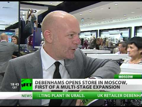 Debenhams opens first Moscow store