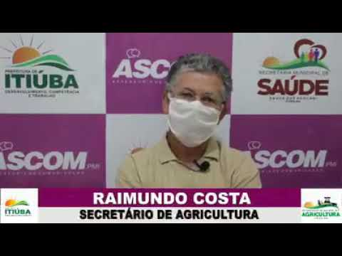 SECRETÁRIO DE AGRICULTURA, RAIMUNDO COSTA FALA SOBRE A FELICIDADE DE ITIÚBA GANHAR O PRÊMIO DE PREFEITURA PARCEIRA DA AGRICULTURA FAMILIAR!!!