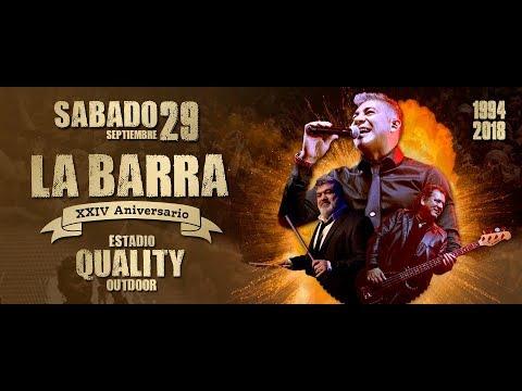 LA BARRA - 24 ANIVERSARIO En Vivo QUALITY (29-09-18)