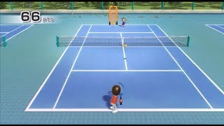 (TAS) Wii Sports Tennis- Timing Your Swing- 75 Points (Smallest Goal Possible)