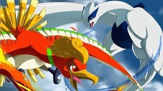 Ho-oh e Lugia Duelo de Titãs - Pokemon Story - Fanfic Dublada