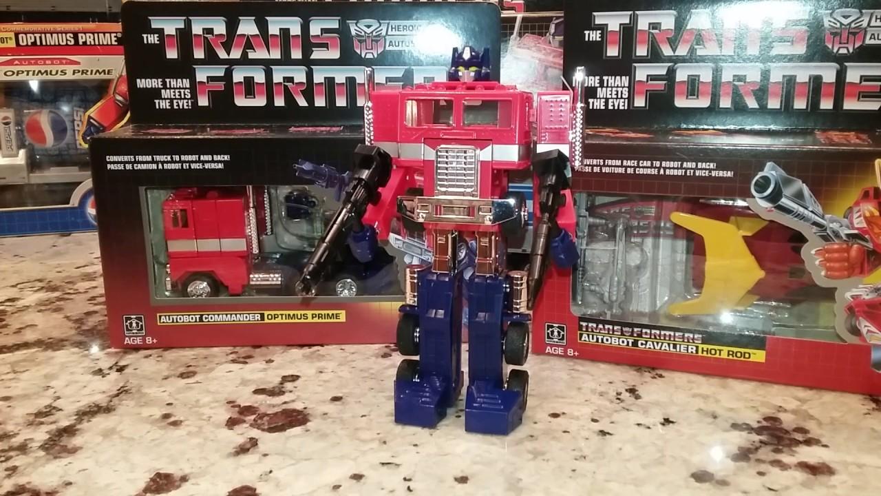 Transformers G1 Reissue Warpath Minibot MOSC Walmart