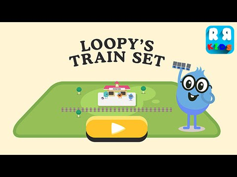 Loopy's Train Set (By Metro Trains Melbourne Pty Ltd) - iOS / Android - Gameplay Video