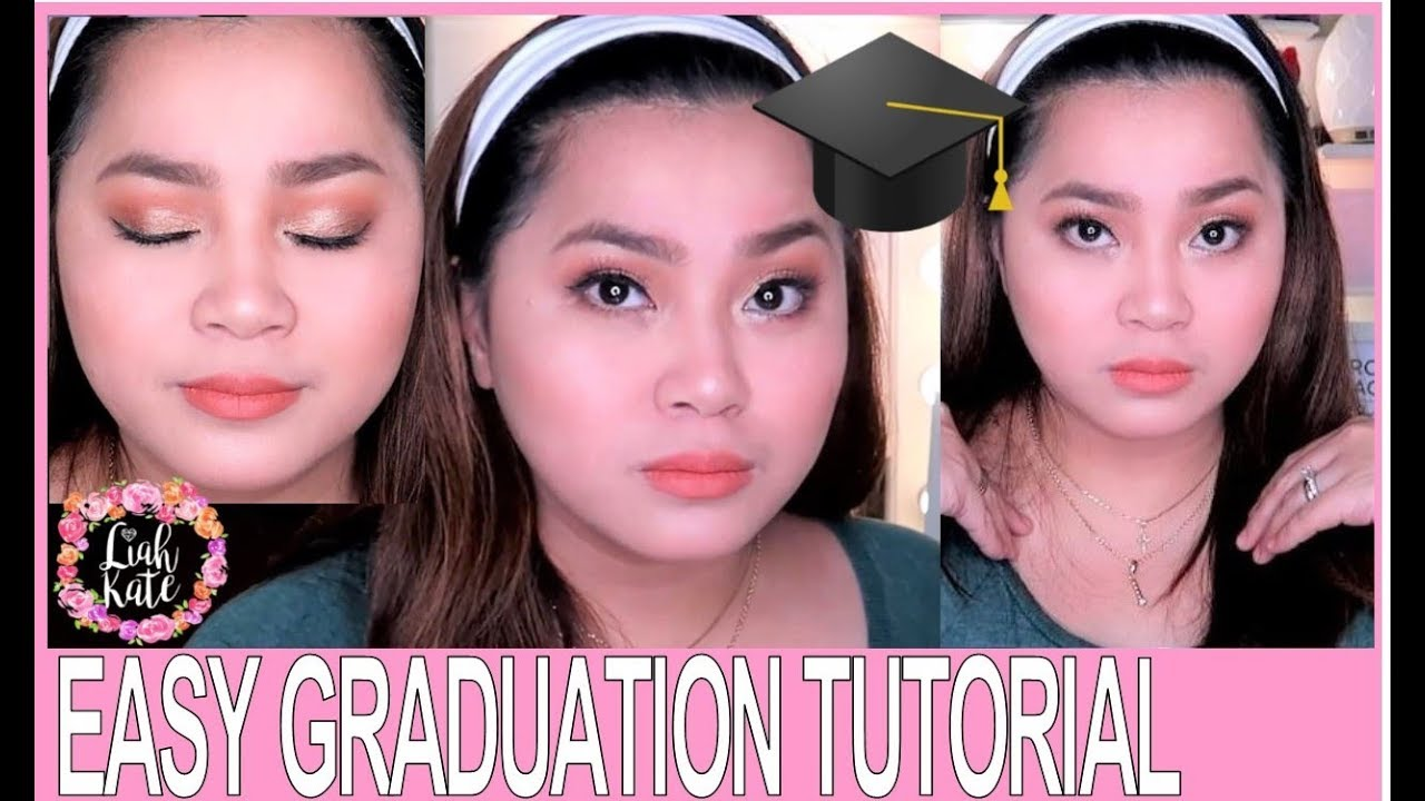 Download AFFORDABLE & EASY GRADUATION TUTORIAL feat. Miniso brushes | 2019 | Liah Kate