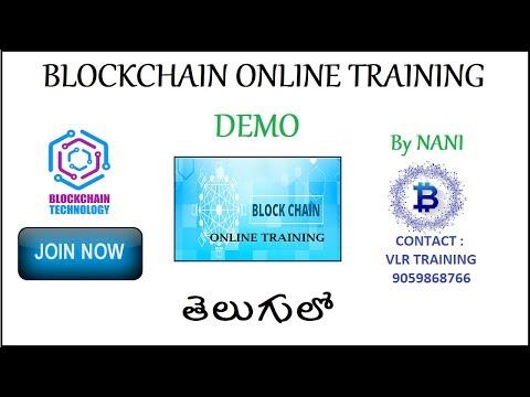BlockChain Demo By Nani Telugu I Blockchain Technology Tutorials I Blockchain Course I 9059868766