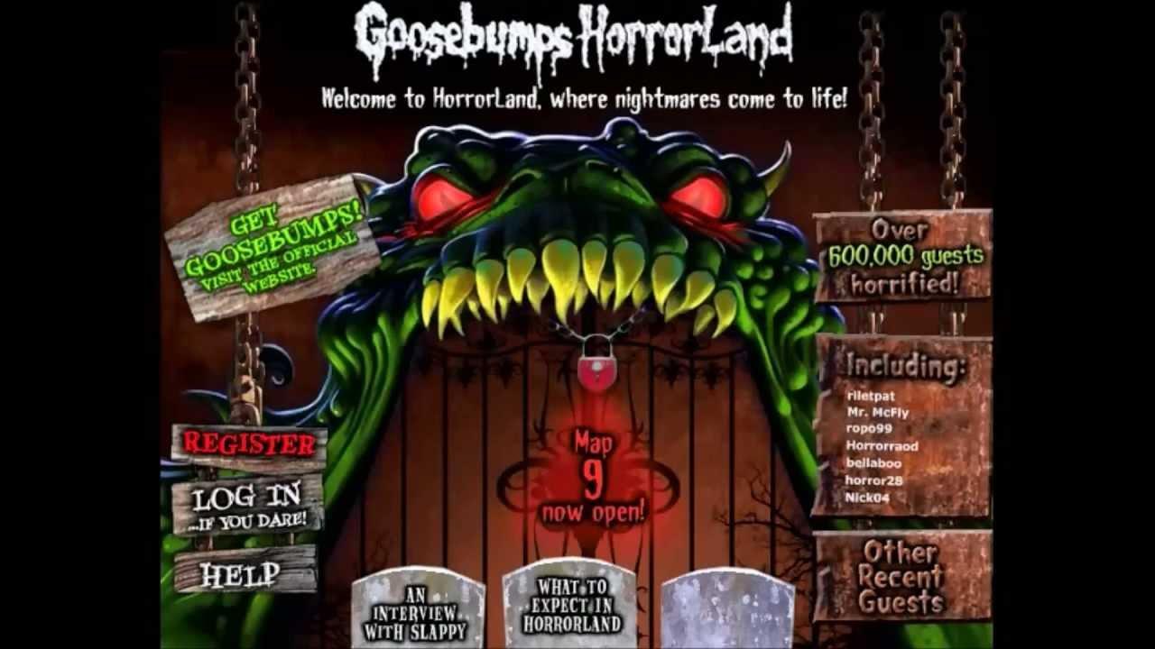 Goosebumps Horrorland Game OST - Tracks 1 and 2 - YouTube