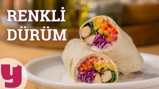 Renkli Dürüm Tarifi (15 Dakikada Hazır!)   Yemek.com