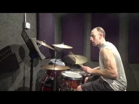 Jillionaire ft Fuse ODG & Fatman Scoop - Sunrise - Drum cover/mini shed