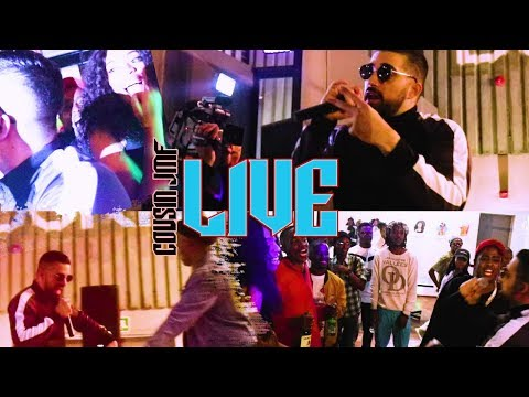 """2018 live rap performance by COUSIN JMF at the """" The Creaters Hangout"""" Johannesburg"""