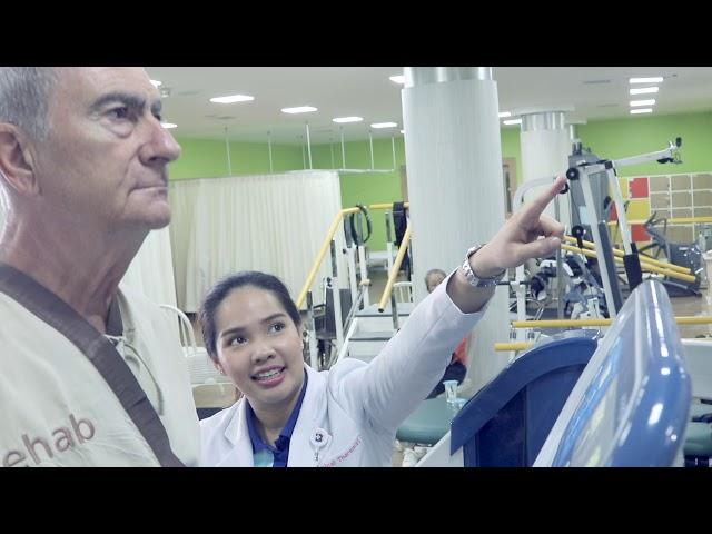 ประสบการณ์จริงจากการทำกายภาพบำบัดด้วยลู่วิ่งกึ่งไร้น้ำหนัก (Anti-gravity Treadmill : Alter-G)