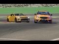 Battle Mercedes-Bez C63 AMG Black Series vs Chevrolet Camaro SS