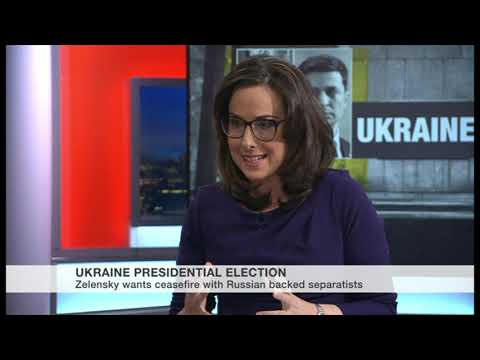 New Comedian Ukrainian President - Interview