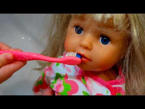 День с Беби Бонами  Живая Кукла ДВОЙНИК в подарок и Утро с Куклами Беби Бон Видео для детей