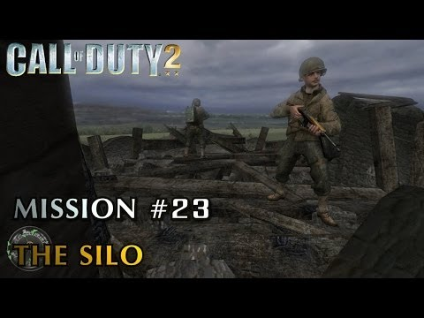 Call of Duty 2 - Mission #23 - The Silo (American Campaign) (Veteran)