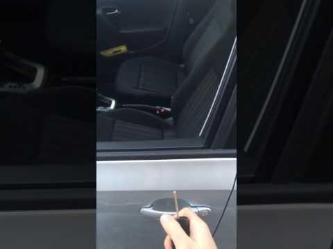 Неисправность механизма открывания двери polo
