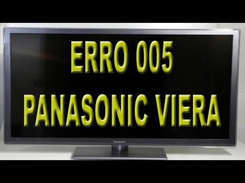 Tv Panasonic-Falha de comunicação com o servidor 005 e erro 006