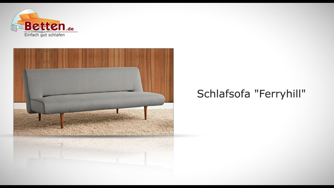 edles retro schlafsofa im stil der 50er jahre ferryhill. Black Bedroom Furniture Sets. Home Design Ideas