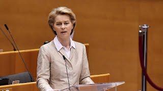 Coronavirus : Ursula von der Leyen présente ses excuses à l'Italie