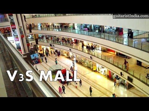 East Delhi- Most Crowded & Popular V3s Mall at Shakarpur, Laxmi Nagar, Nirman Vihar
