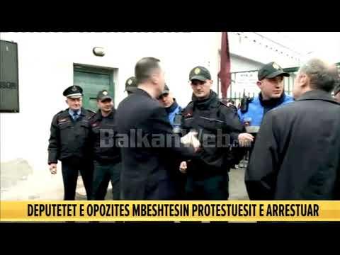 Deputetët përplasen me policinë,Prokuroria: Burg për 6 protestues
