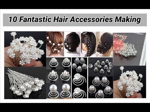 10 Fantastic Hair Accessories Making at home