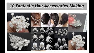 10 Fantastic Hair Accessories Making at home