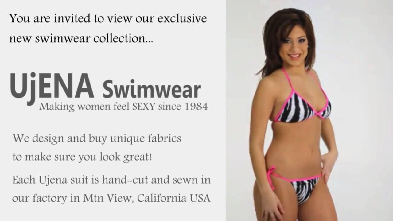 cd31057bef UjENA Hot Zebra Tonga Bikini R201 - YouTube