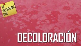 ICTRQ: DECOLORACIÓN EN RECUBRIMIENTOS