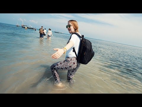 A DAY ON THE INDIAN OCEAN - Zanzibar Snorkeling Adventure!