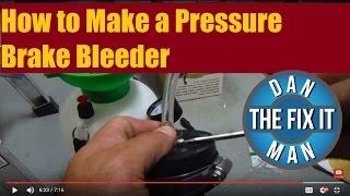 كيفية جعل الضغط منزوفة الفرامل