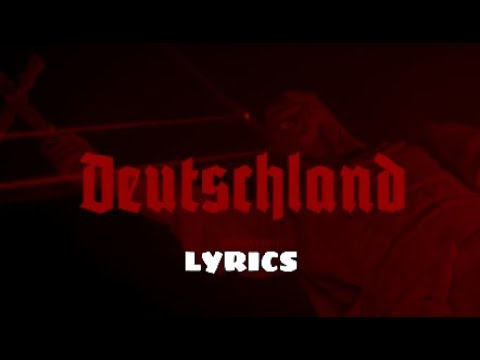 Rammstein - Deutschland [English] [Lyrics]