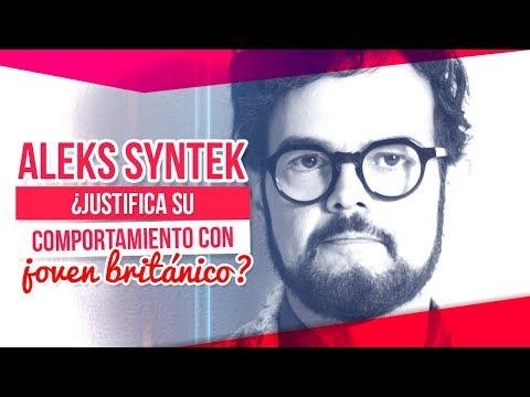 Aleks Syntek habla sobre el joven Inglés y justifica su comportamiento    De Primera Mano