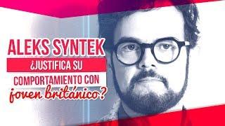 Aleks Syntek habla sobre el joven Inglés y justifica su comportamiento  | De Primera Mano