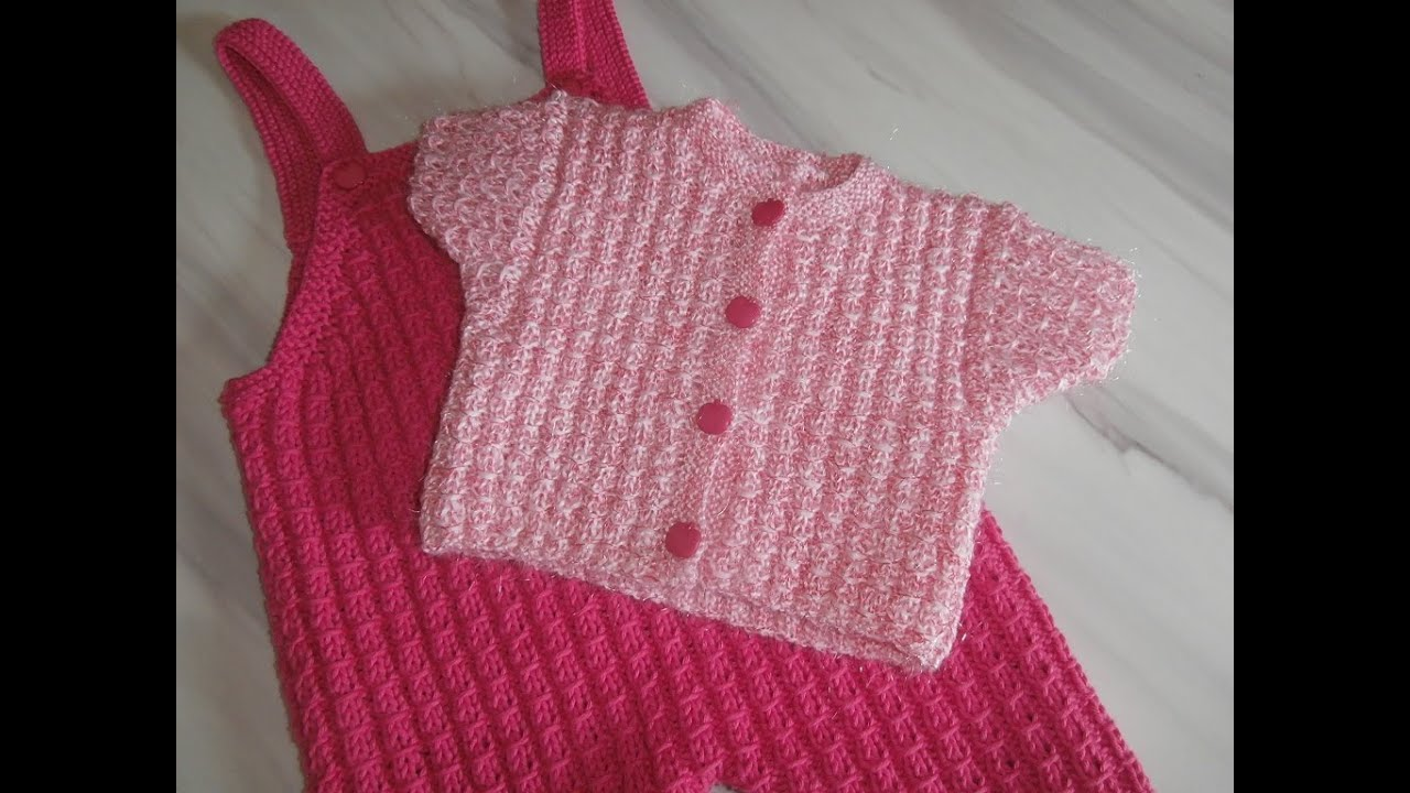 Super Tuto tricot layette : explications côtes 2/2 fantaisie . - YouTube FO67