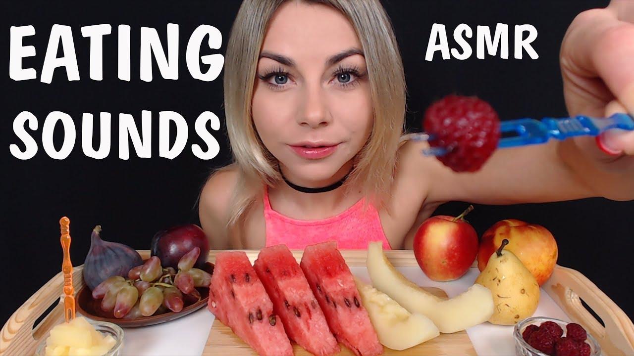 АСМР Звуки рта и еды
