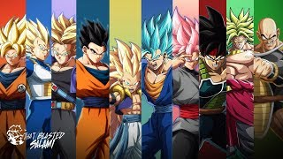 Dragon Ball FighterZ Character Overviews - The Saiyans