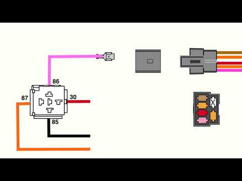how to wire an electric fuel pump relay