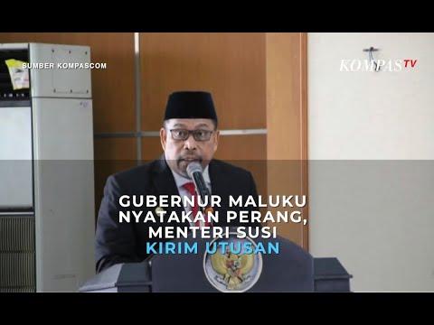 Gubernur Maluku Nyatakan Perang, Menteri Susi Kirim Utusan