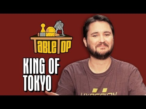 Want to play King of Tokyo with your friends at home? Visit your friendly local game shop to purchase it! Or buy it online at: http://amzn.to/1ho0KVo Subscribe to ...