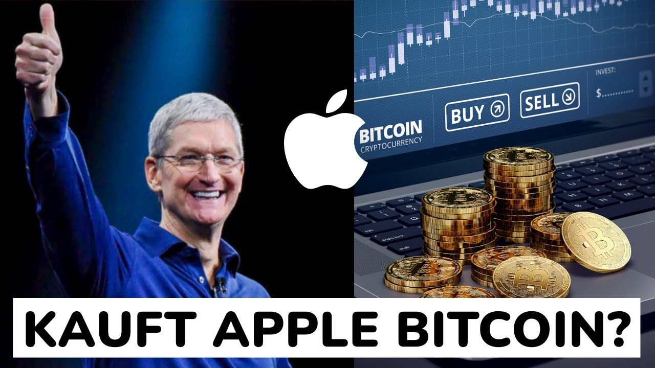 Apple investiert in Bitcoin
