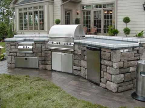 Outdoor Kitchen Designs Ideas and Plans YouTube – Outdoor Kitchen Plans