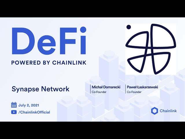 Synapse Network on Chainlink Live   Cross-Chain Blockchain IDO Platform Powered by Hybrid Oracles